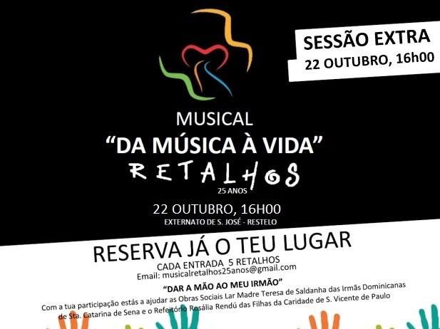 Música: Banda «Retalhos» volta aos palcos em concerto solidário