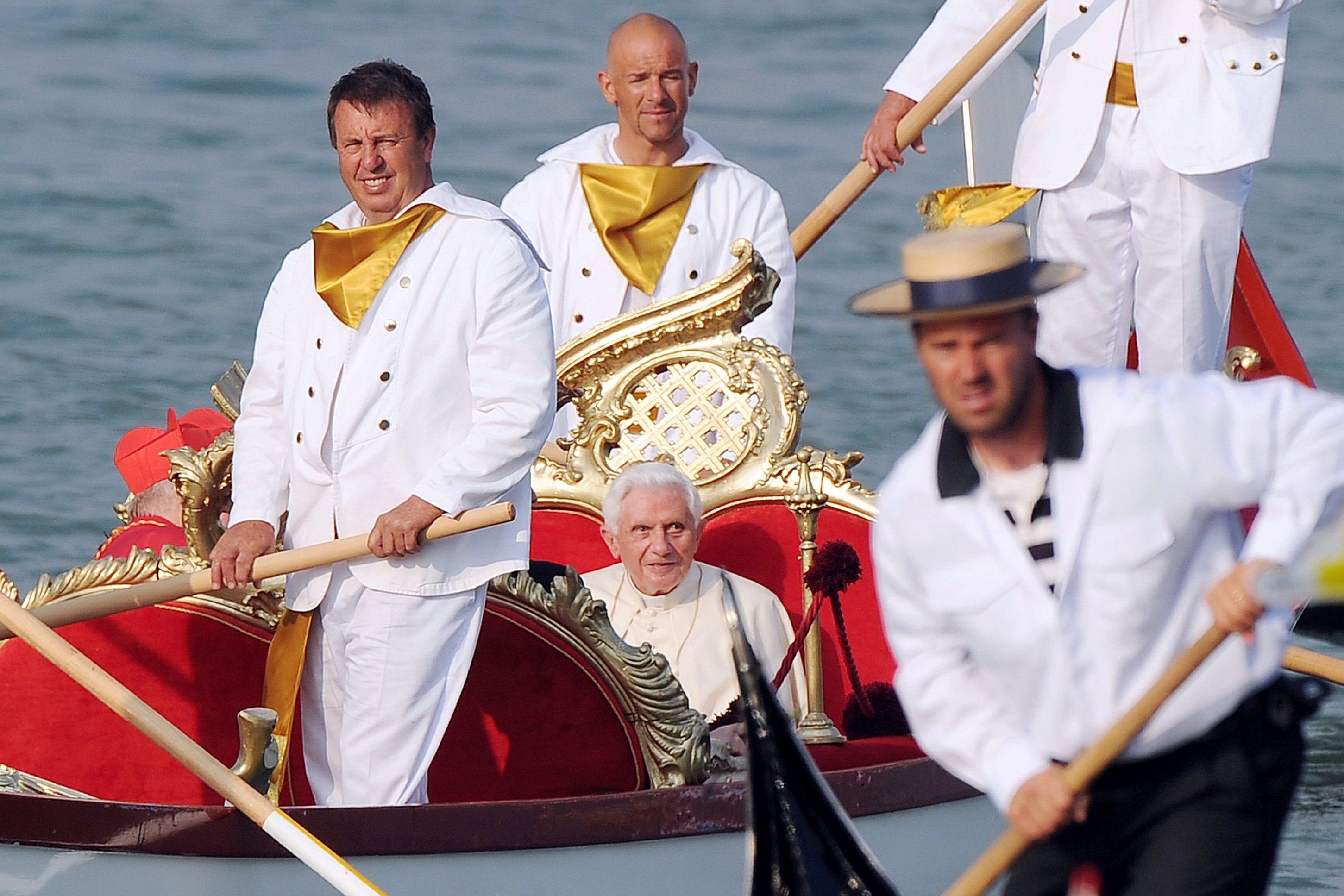 ITALY VENICE POPE BENEDICT XVI