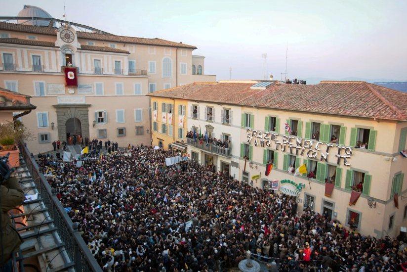 ITALY POPE CASTEL GANDOLFO