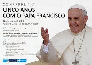 Igreja: Padre Tolentino Mendonça conta como foi o retiro com o Papa numa conferência que assinala cinco anos do pontificado