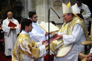 Lamego: Ordenação sacerdotal do Diácono Vitor Carreira