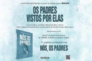 Igreja/Mulheres: Debate sobre «Os padres vistos por elas» em Lisboa