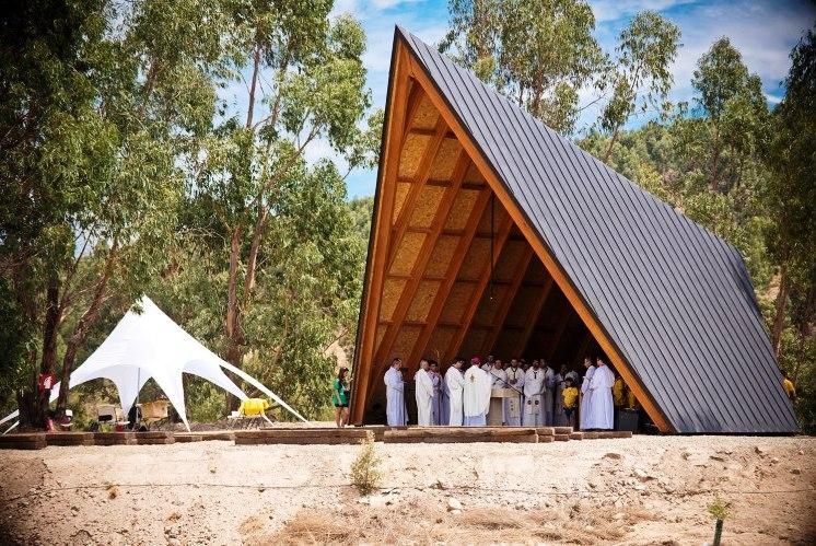 Arquitetura: Corpo Nacional de Escutas tem capela a concurso no festival de Amesterdão - Agência ECCLESIA