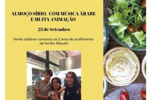 Refugiados: Dois anos de acolhimento da família Alloush em Oeiras