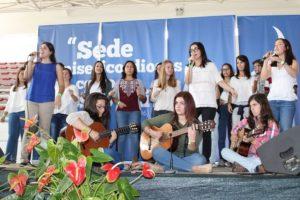 Évora: Jovens cantam como «Discípulos Missionários»